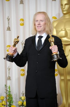 Paul with his 2 Oscar Awards