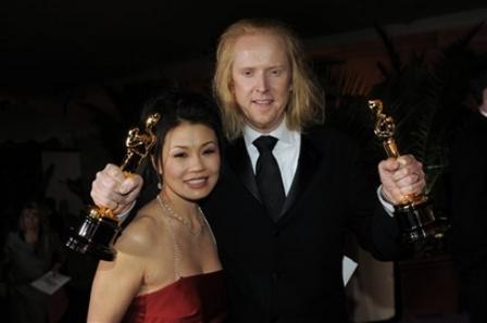 Karen and Paul in celebration